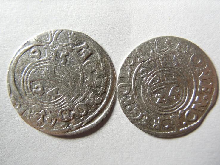 Полтораки 1625 год 2 штуки