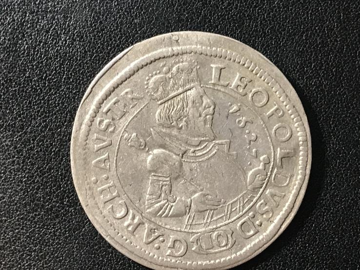 10 крейцеров 1627 год.