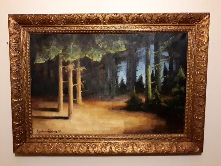 Лісовий пейзаж. 64см×41. 1938 рік, Данія