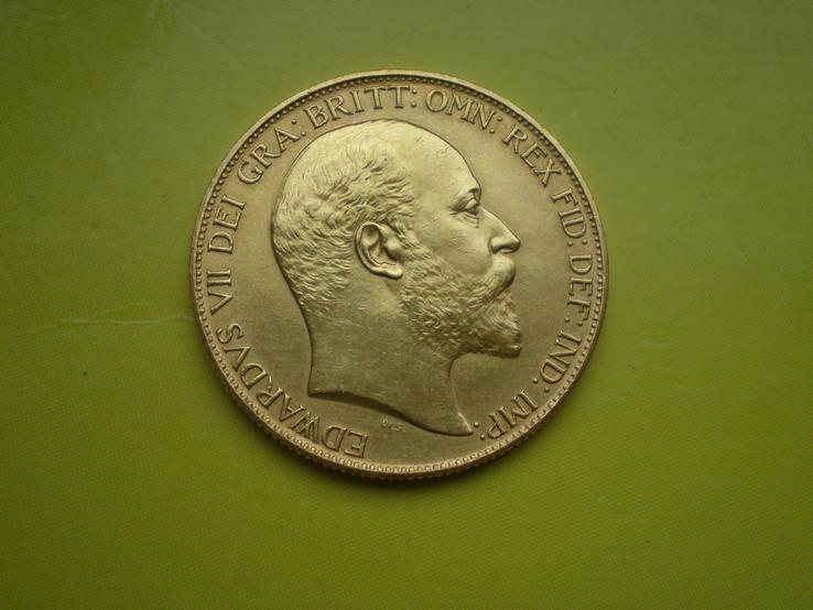 2 фунта 1902 г. Англия