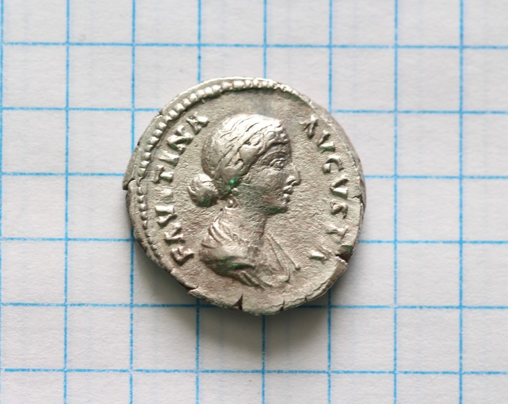 Фаустина II денарий RIC 677