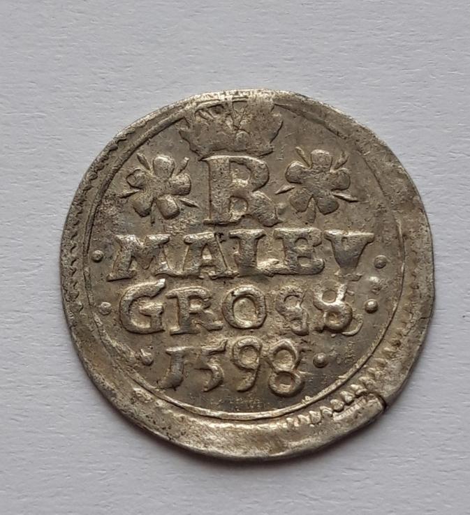Малый грош 1598 Богемия