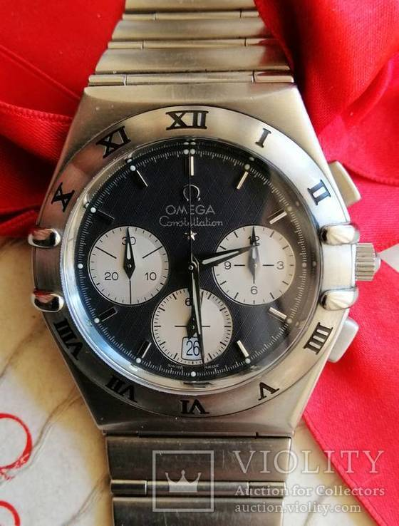 Omega Constellation ref.386 1201