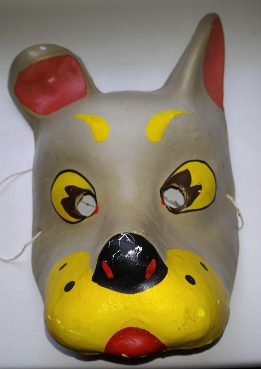 Маска из СССР , Собака , папье маше, фото №6