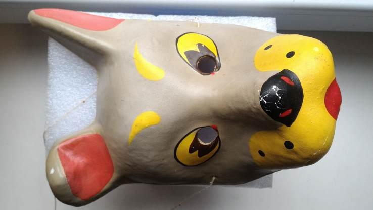 Маска из СССР , Собака , папье маше, фото №8