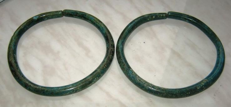 Два массивных браслета Кобанской культуры(12-8вв.до н.э.).