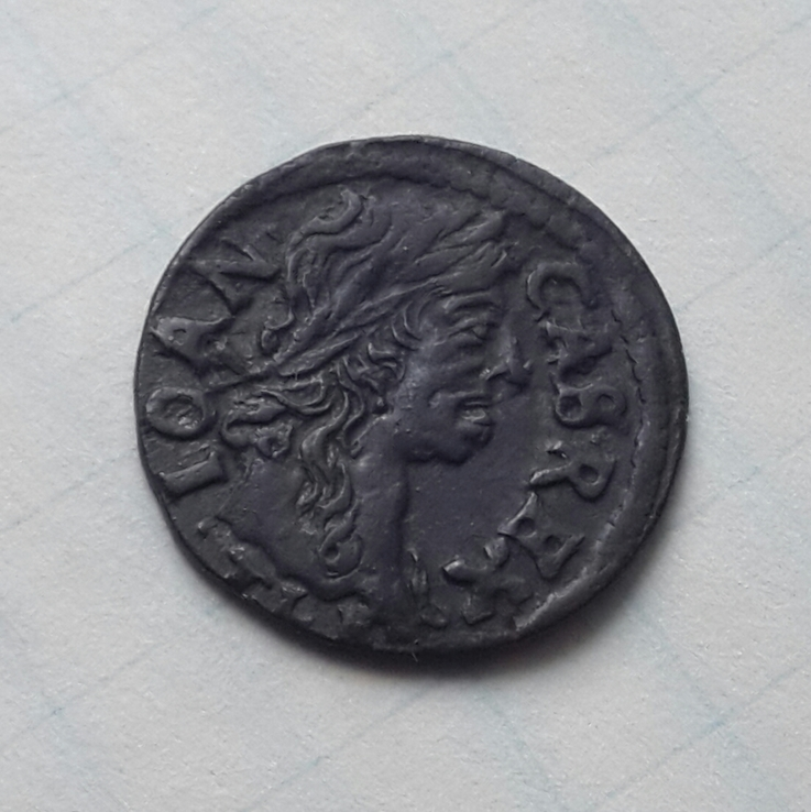Коронный солид (боратинка) Яна Казимира 1663г., T.L.B.