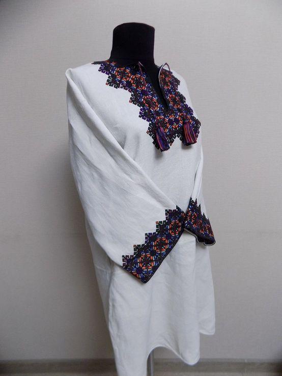 Жіноча вишиванка на домотканому полотні Старі Кути, фото №6