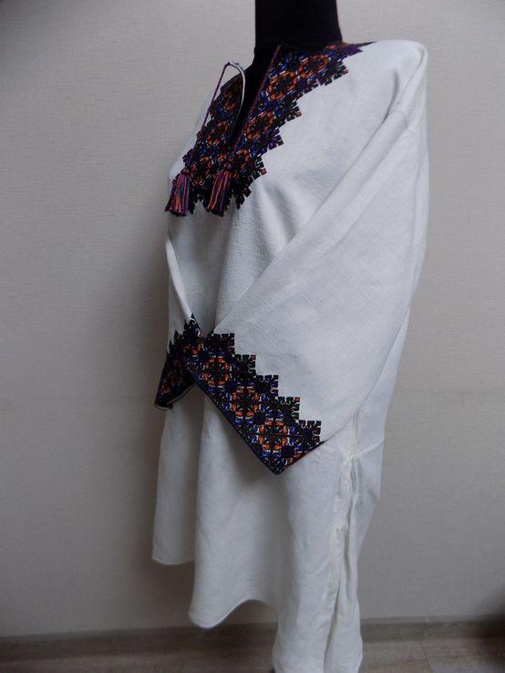 Жіноча вишиванка на домотканому полотні Старі Кути, фото №8