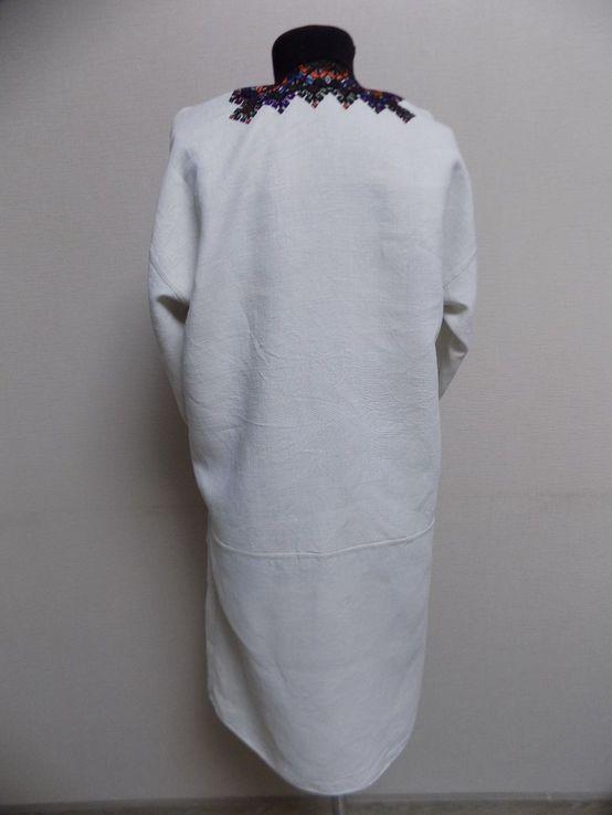 Жіноча вишиванка на домотканому полотні Старі Кути, фото №9