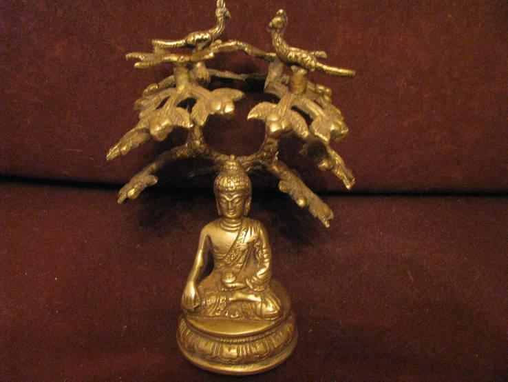 Скульптура  Буда под деревом, фото №2