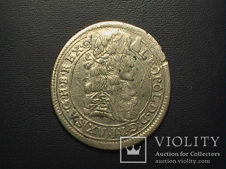 15 крейцерів  1680 рік