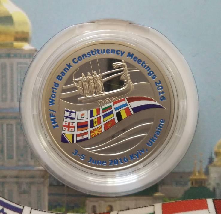 Жетон НБУ ЕБРР 2016 тираж 250 штук, фото №3