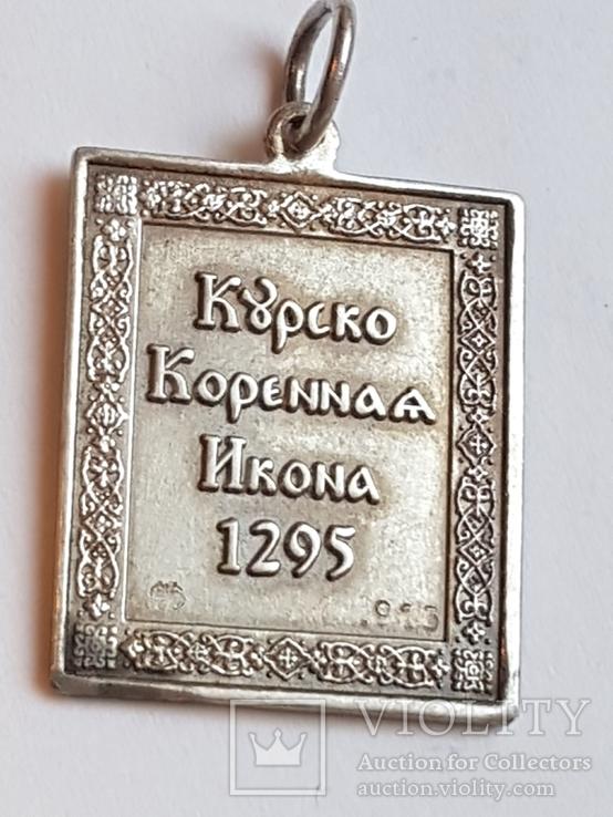 Иконка нательная. Серебро 925 проба., фото №4