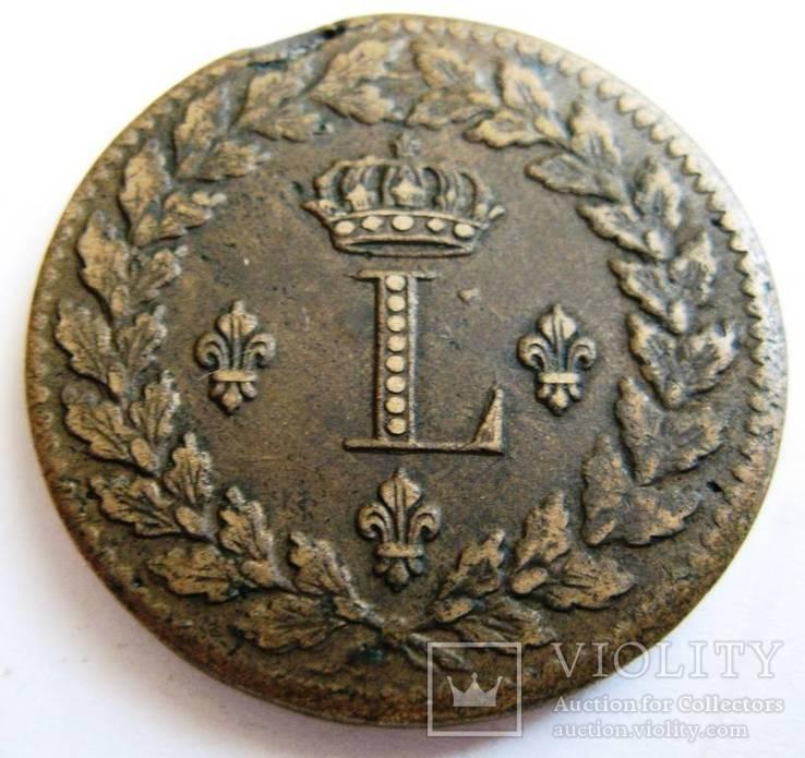 Франция, г. Страссбург, UN DECIME 1815 BB
