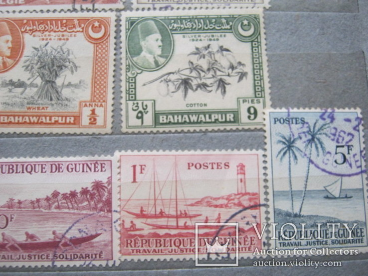 Почтовые марки разные 30 шт., фото №4