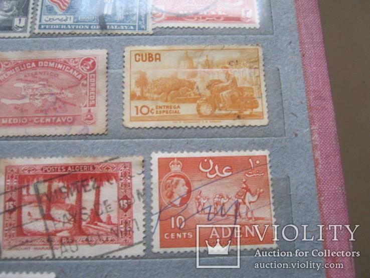 Почтовые марки разные 30 шт., фото №7