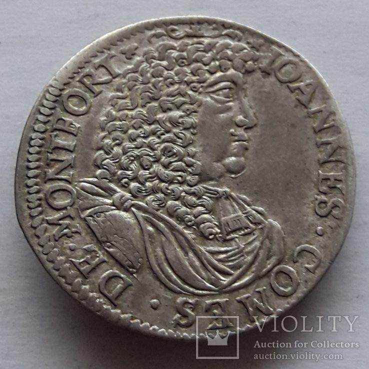 15 крейцеров 1676 г.