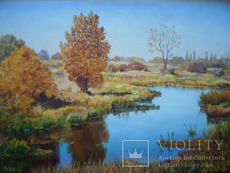 Річка Турія восени