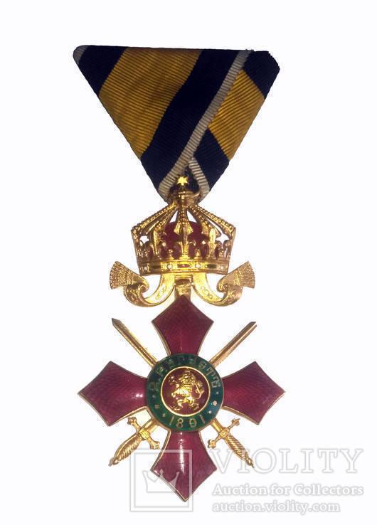 Болгарский офицерский орден