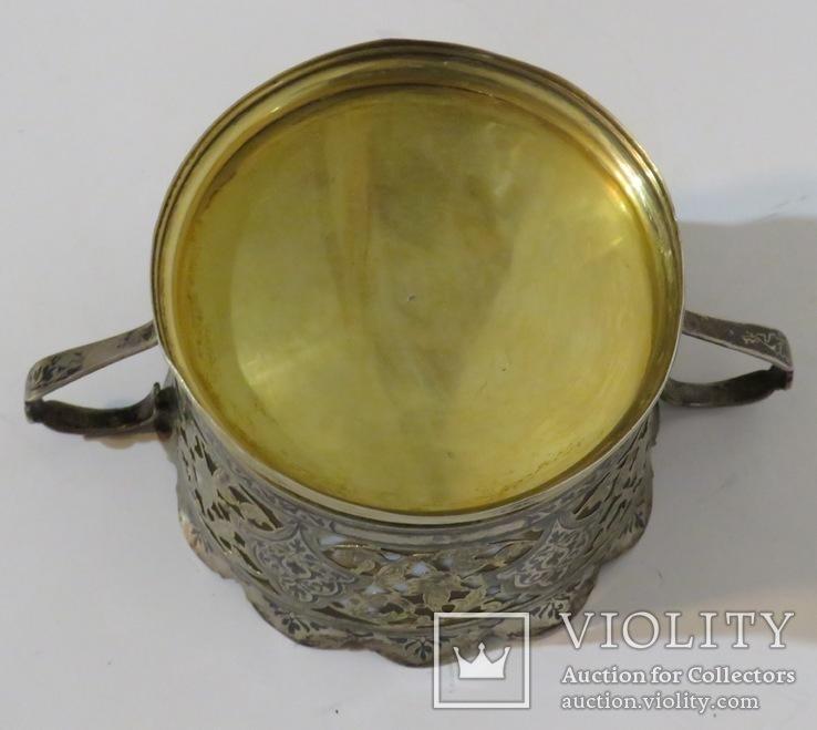 Серебряная конфетница , Махачкала, 1961год., фото №5