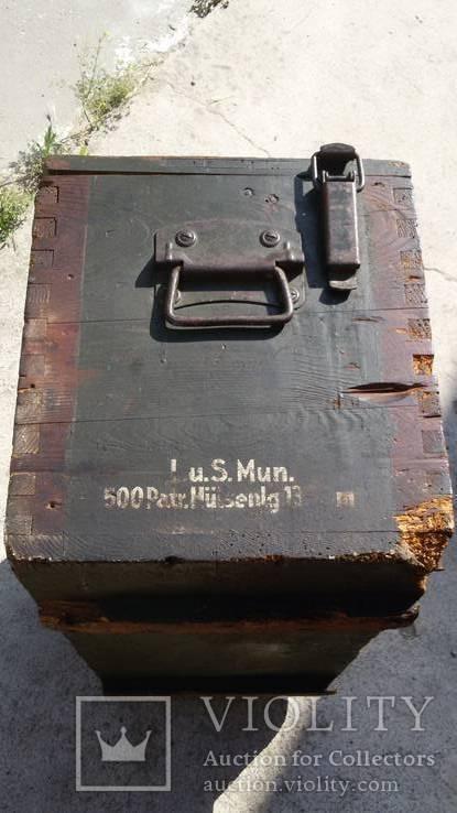 Ящик для патронов,  Третий рейх 1939г., фото №6