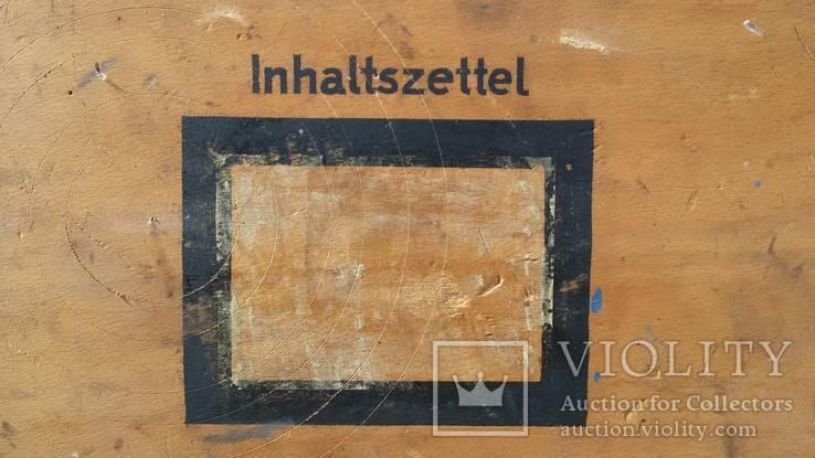 Ящик для патронов,  Третий рейх 1939г., фото №8