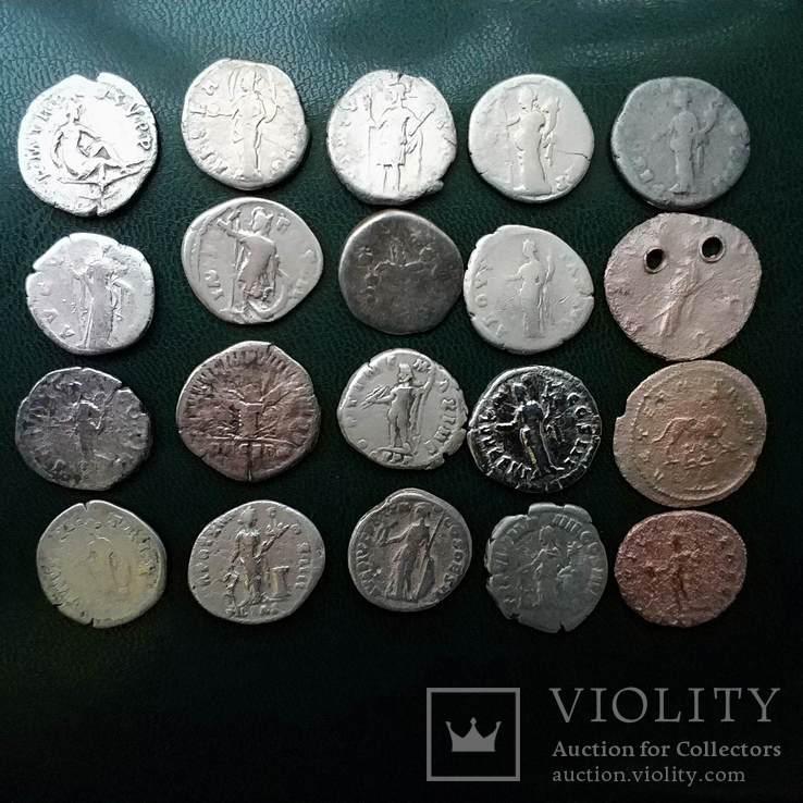 Монети Риму 20шт