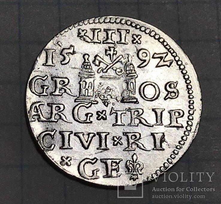 Трояк 1592г.