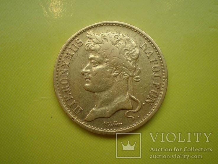 20 франков 1809 г. Вестфалия