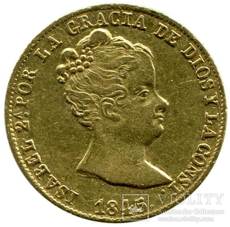 80 Реалов 1845г. Испания