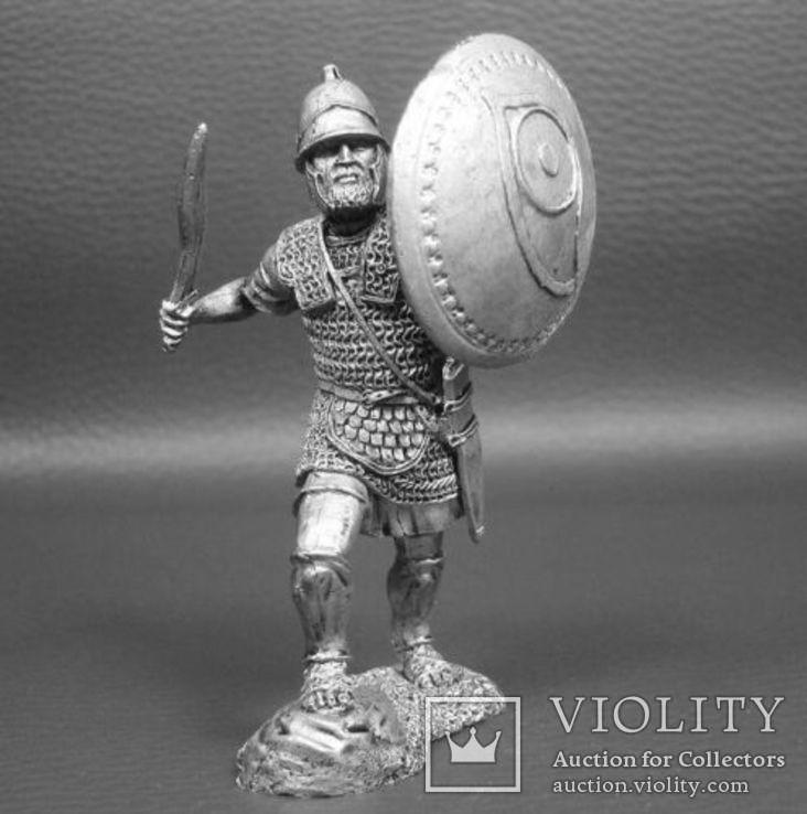 2-я Пуническая война.Карфаген.Тяжеловооруженный пехотинец священного отряда 3-2 век..
