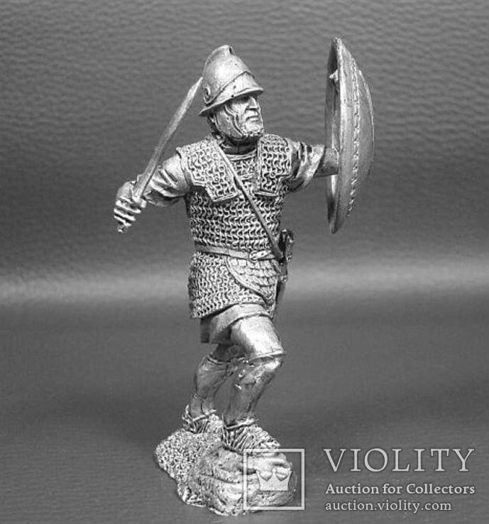 2-я Пуническая война.Карфаген.Тяжеловооруженный пехотинец священного отряда 3-2 век.., фото №3