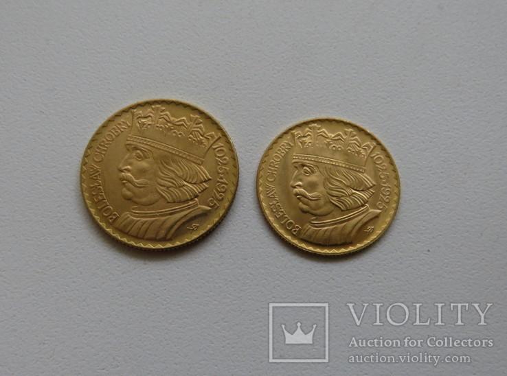 20 и 10 злотых 1925 год ПОЛЬША золото