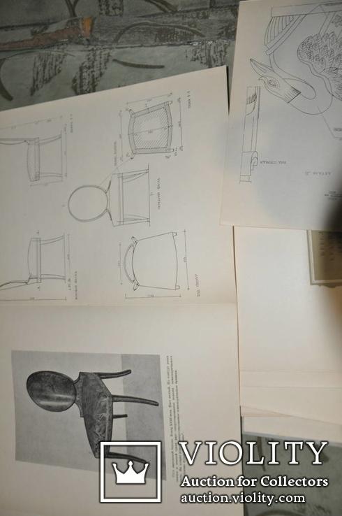 Бытовая мебель русского классицизма 1954 г, фото №5