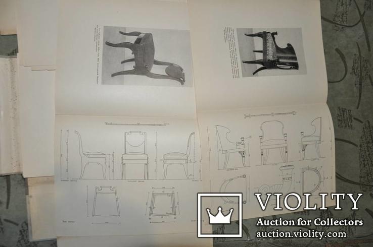 Бытовая мебель русского классицизма 1954 г, фото №7