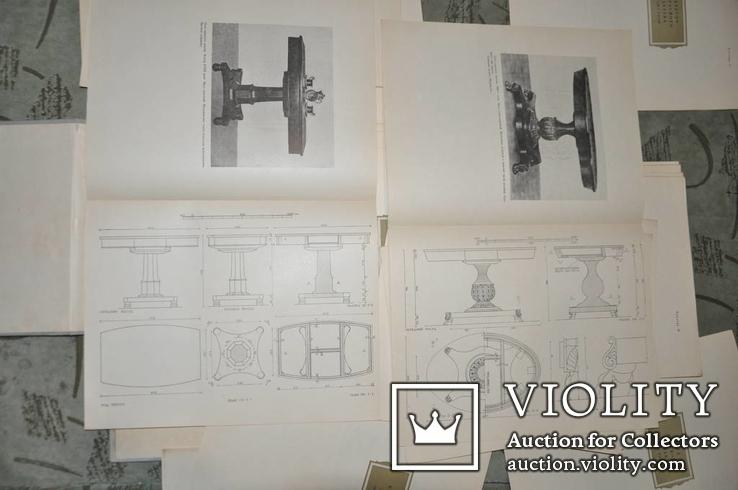 Бытовая мебель русского классицизма 1954 г, фото №9