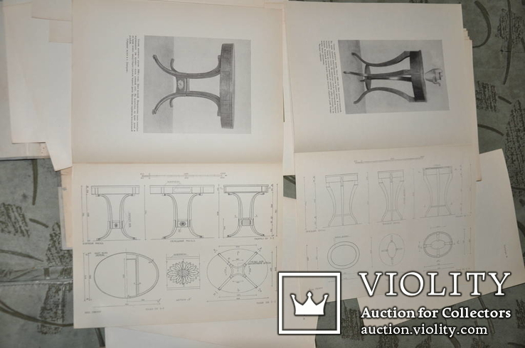 Бытовая мебель русского классицизма 1954 г, фото №12
