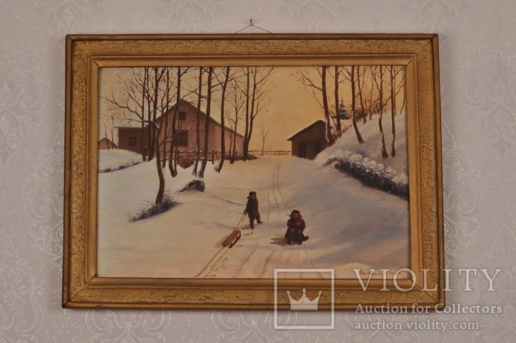 Картина 1986 р. худ. Барболюк Парфеній Олексійович.
