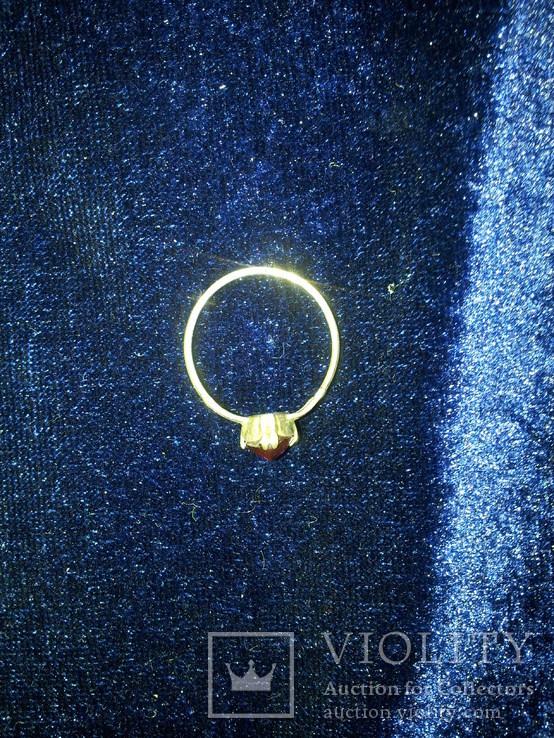 Кольцо 875пр 17размер, фото №5