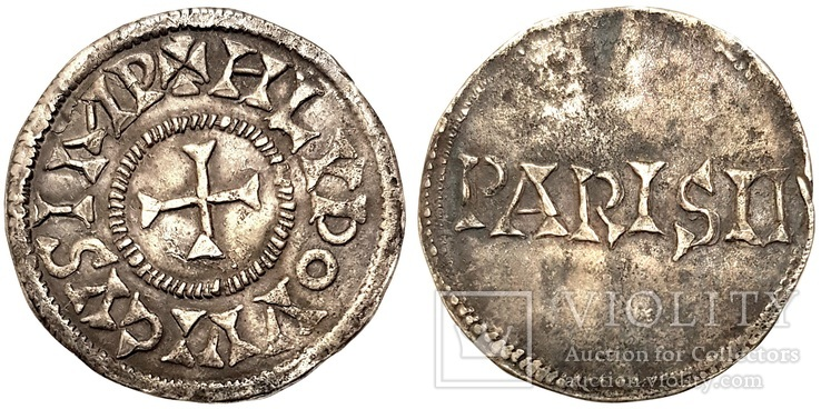 Carolingians Empire, Louis 'le Pieux' (the Pious)  814-840, Denier