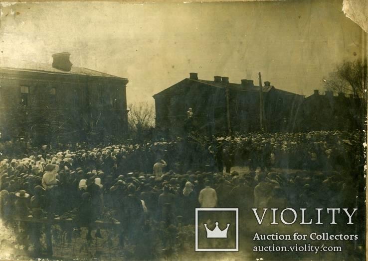 Открытие памятника Ленину - 1924 год. Город неизвестен., фото №3