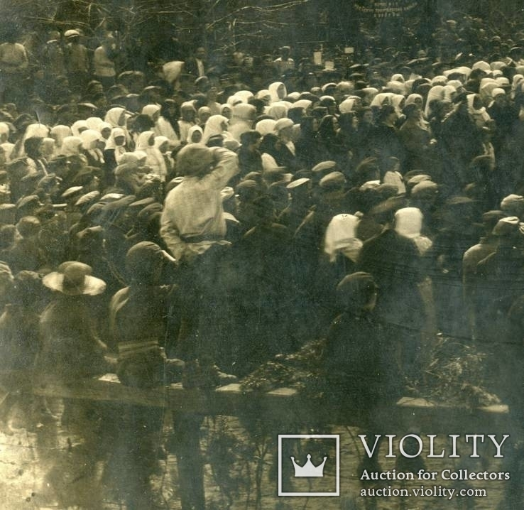 Открытие памятника Ленину - 1924 год. Город неизвестен., фото №6