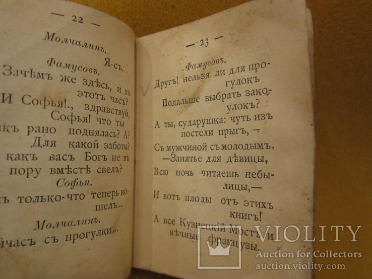 1894 год Горе от ума Грибоедов А.С. карманный 5*7см, фото №5