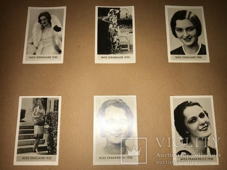 1932 Конкурсы Красоты Мисс Мира и Стран Альбом фото
