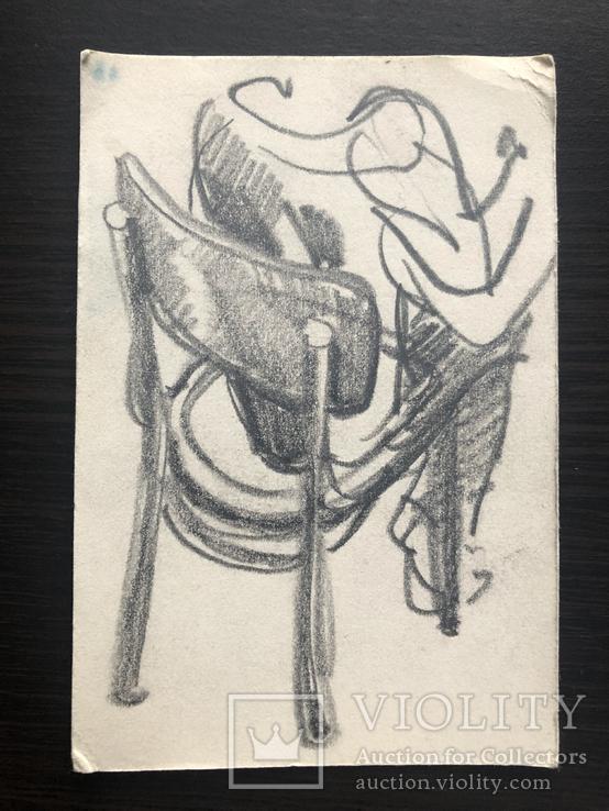 Генриетта Левицкая, рисунок эскиз 2