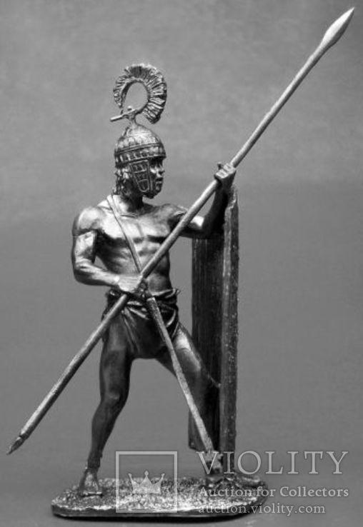 Микены.Тяжелый копейщик 1600 год до н.э., фото №2