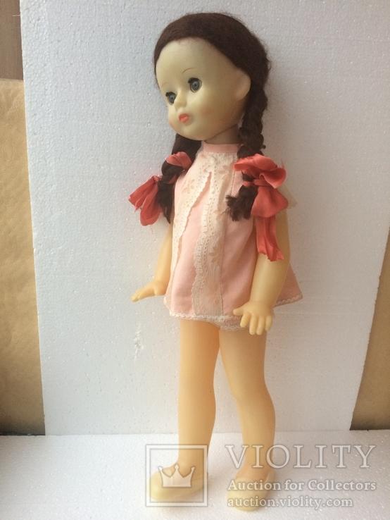 Кукла ссср,67см. (паричковая)