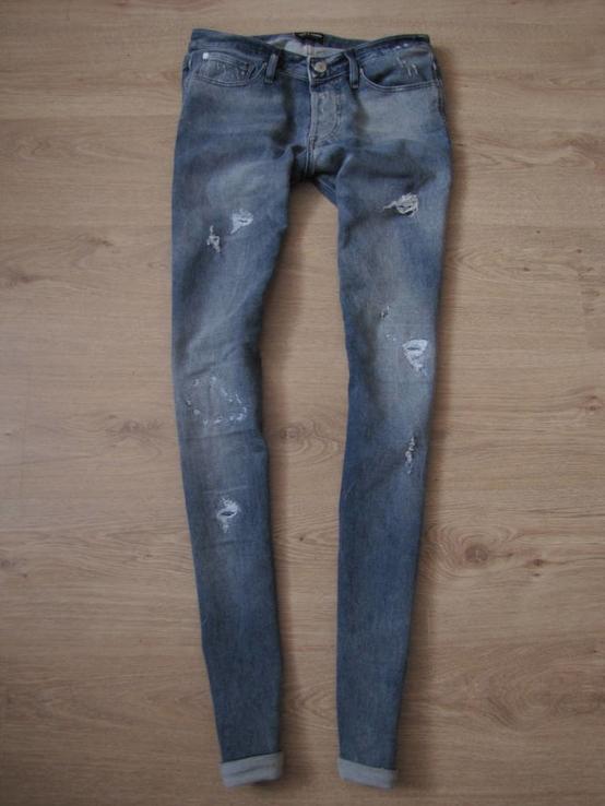 Модные зауженные джинсы Jac g Jonse оригинал КАК НОВЫЕ