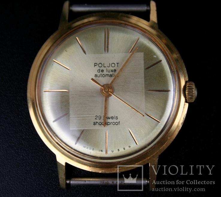Часы Poljot de luxe  Au 20, automatic